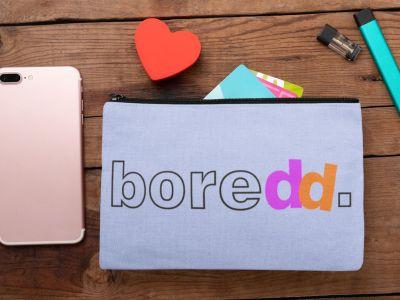 Boredd.com branding by Nameloft