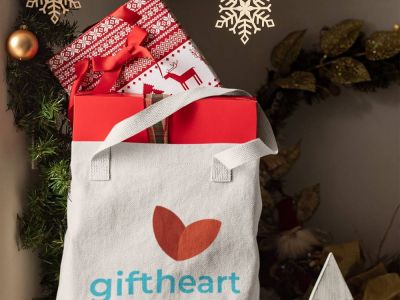 GiftHeart.com branding by Nameloft