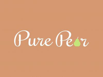 PurePear.com branding by Nameloft