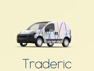 Traderic.com branding by Nameloft